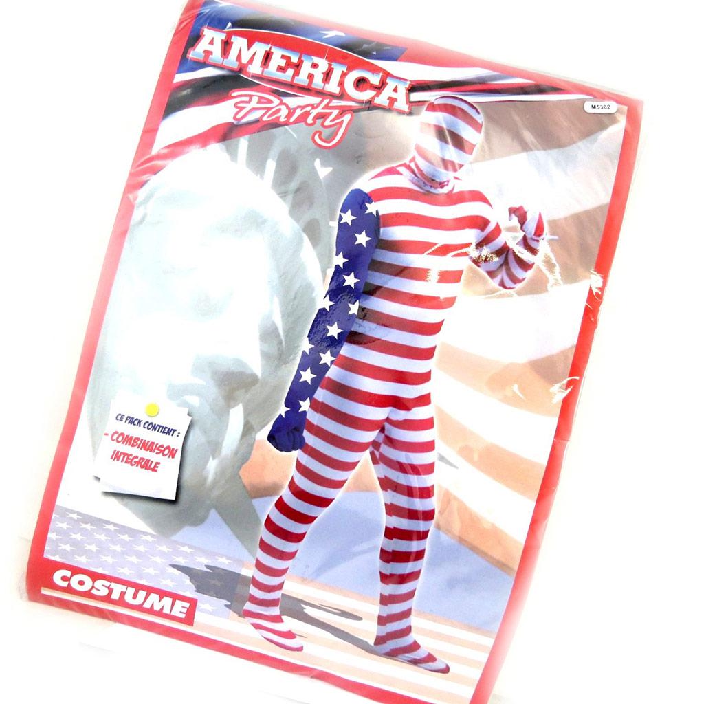 Déguisement combinaison \'America\'  - [M5382]