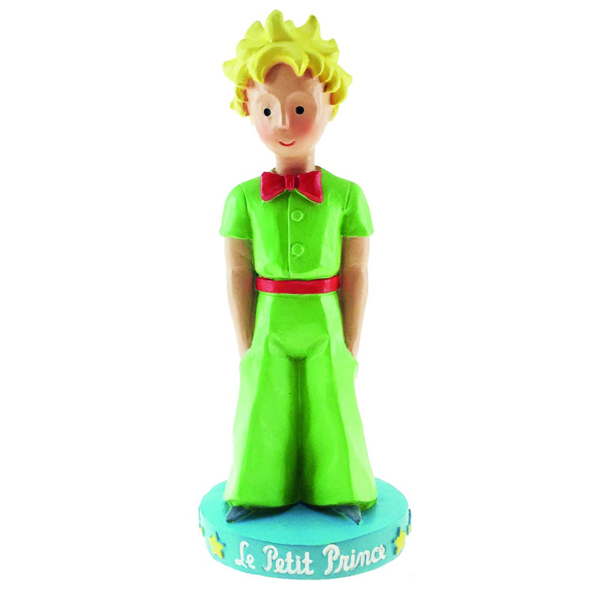 Figurine créateur \'Le Petit Prince\' vert - 12x4x3 cm - [Q8319]