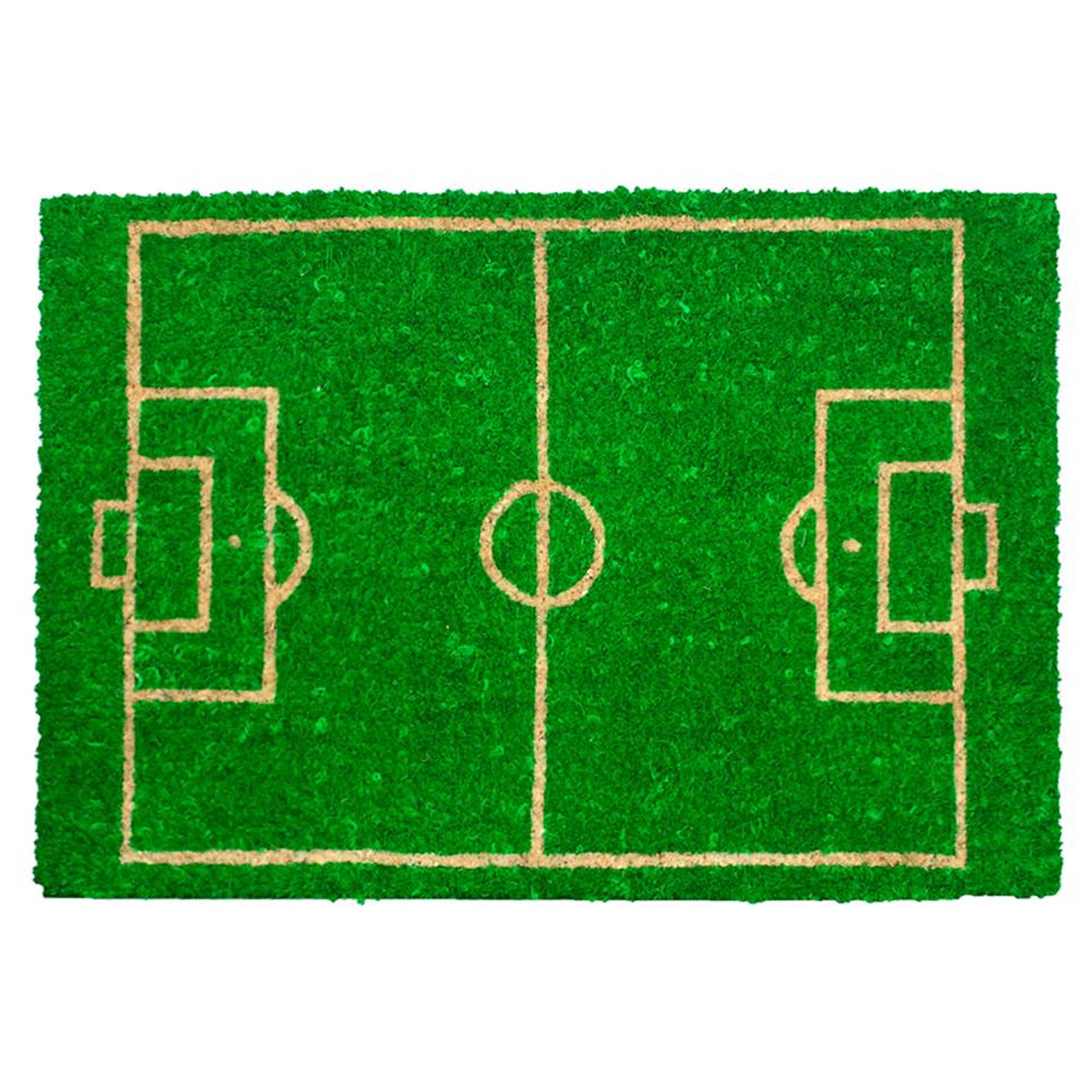 Paillasson \'Football\' vert - [L4057]