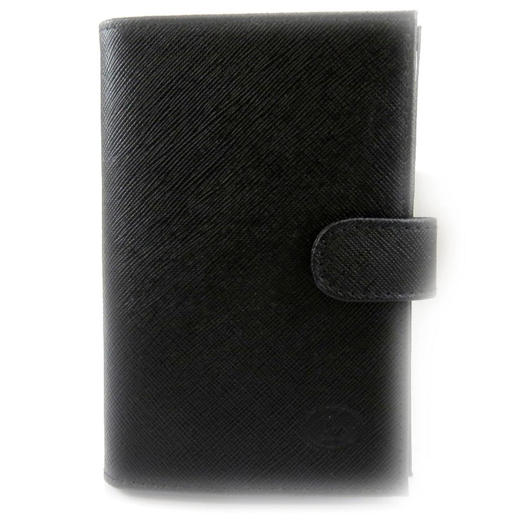 Porte Papiers de voiture Cuir \'Frandi\' noir  - [L4107]
