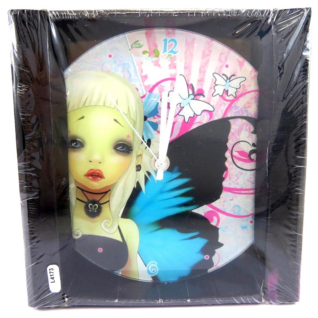 Horloge Murale \'Fairy Dreams\' 19 cm - [L4173]