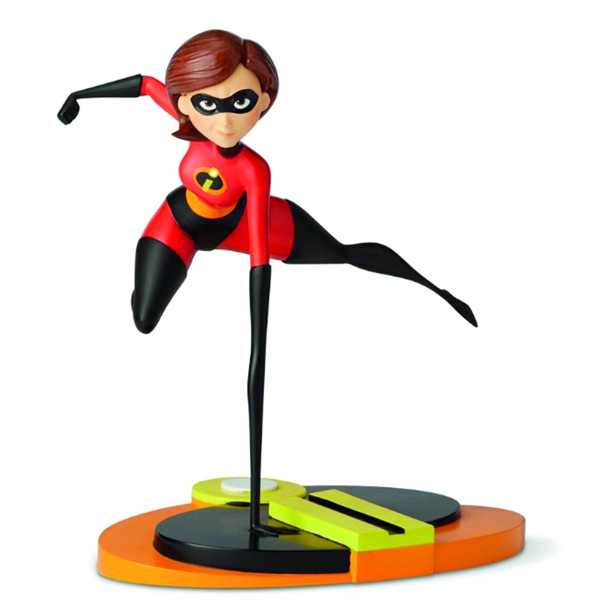Figurine résine \'Mrs Incredible\' rouge noir - 23x225x17 cm - [Q2849]