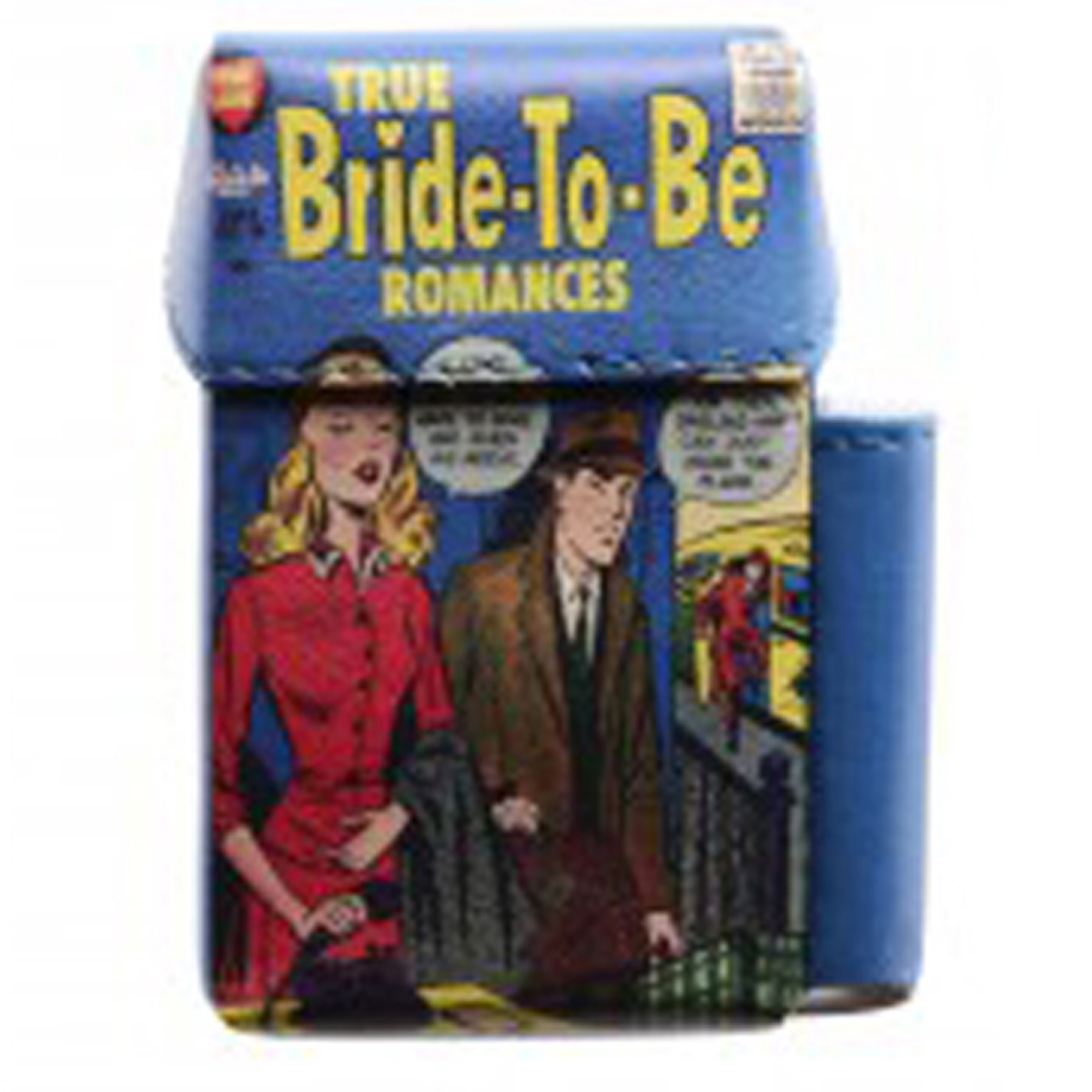 Etui paquet de cigarettes \'Bandes Dessinées\' vintage (True bride to be romances) - 93x55x25 mm - [Q3062]