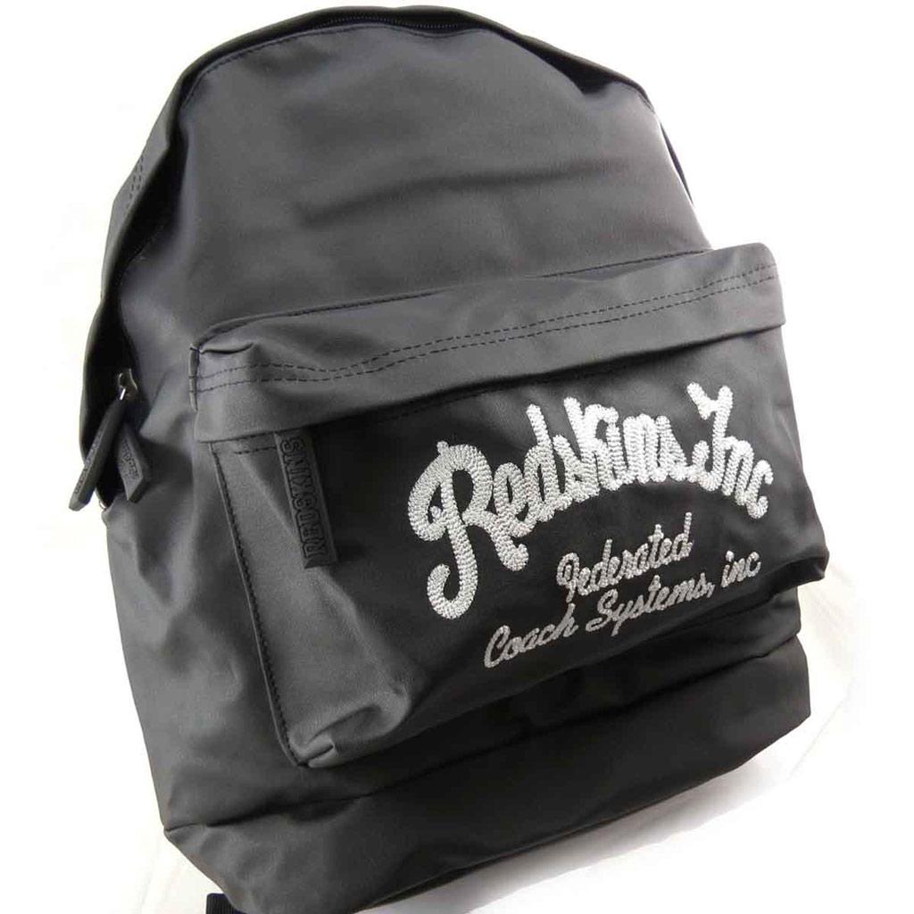 Sac à dos \'Redskins\' noir vintage - [J8439]