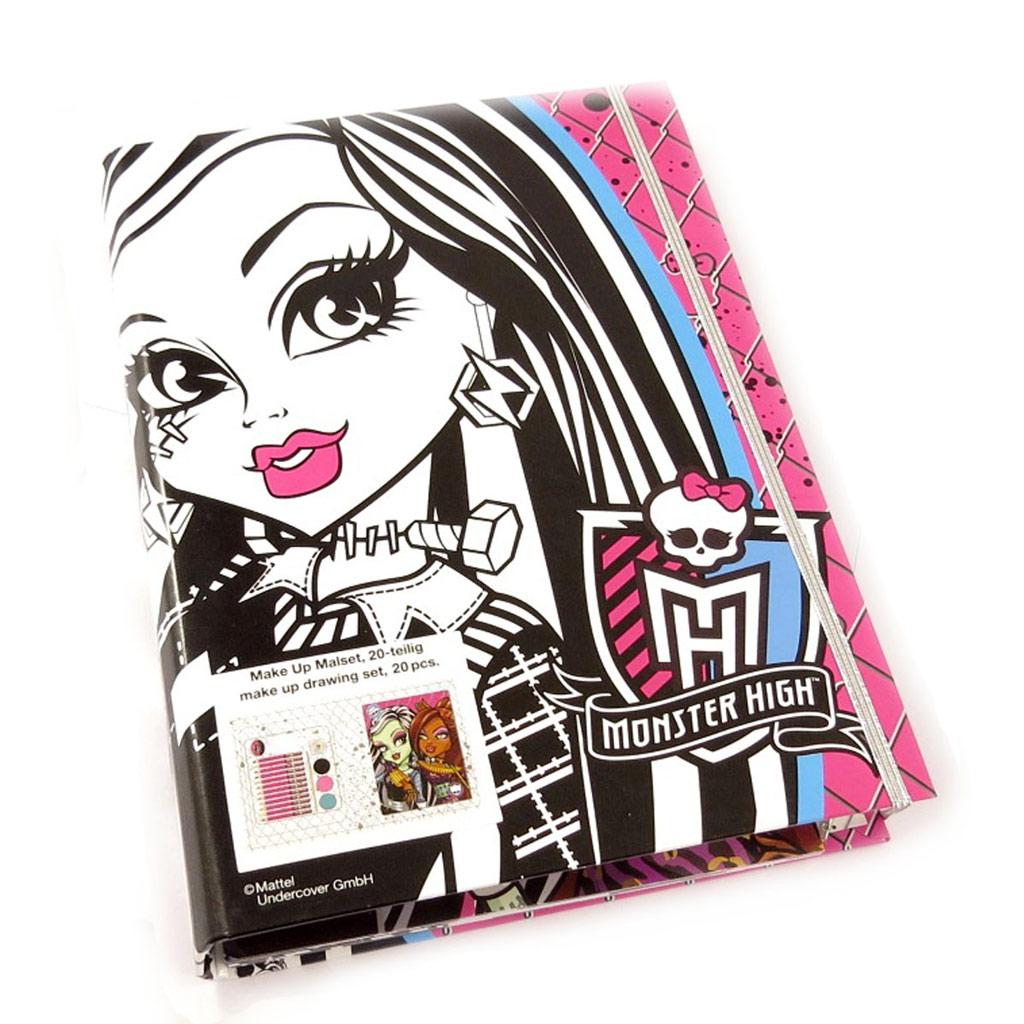 Palette de l\'artiste \'Monster High\' (20 pièces)  - [K8672]