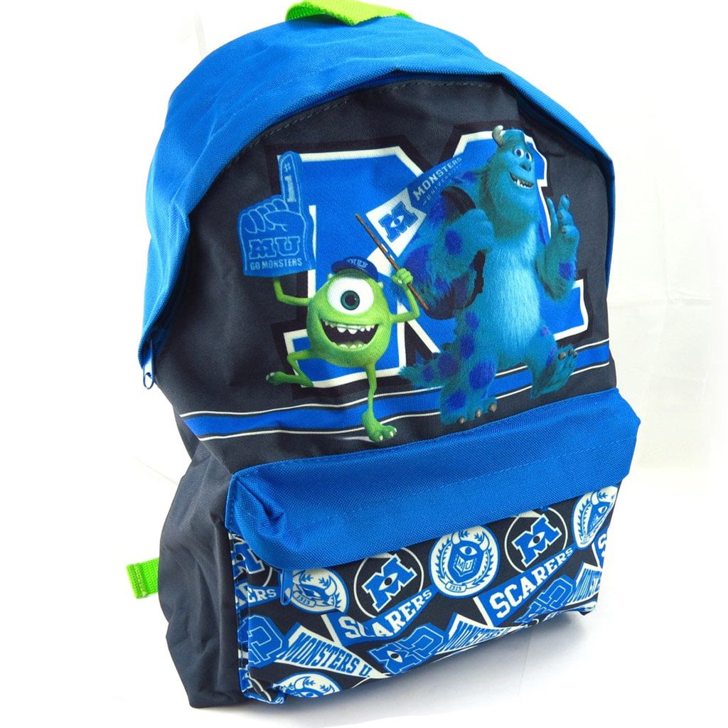 Sac à dos \'Monsters University\' bleu vert - [K5987]