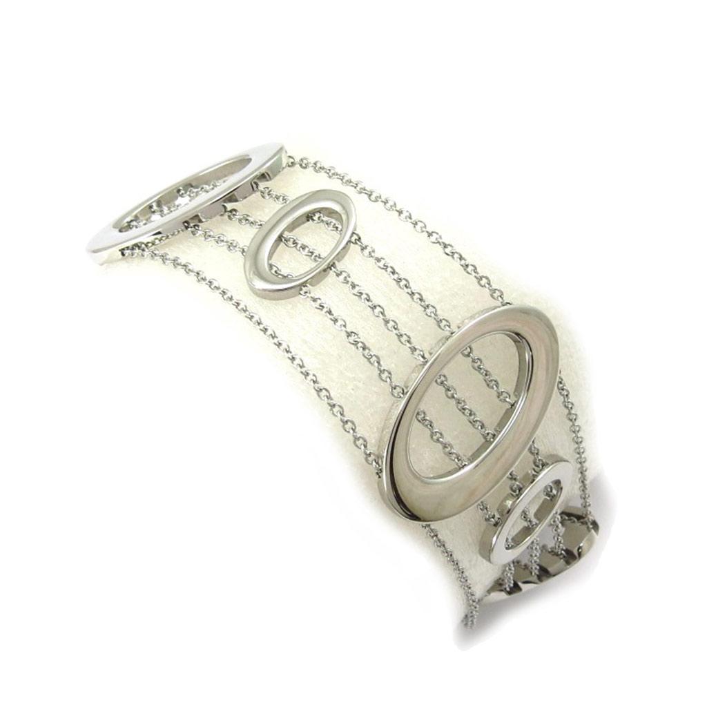 Bracelet acier \'Chorégraphie\' argenté - [K6013]