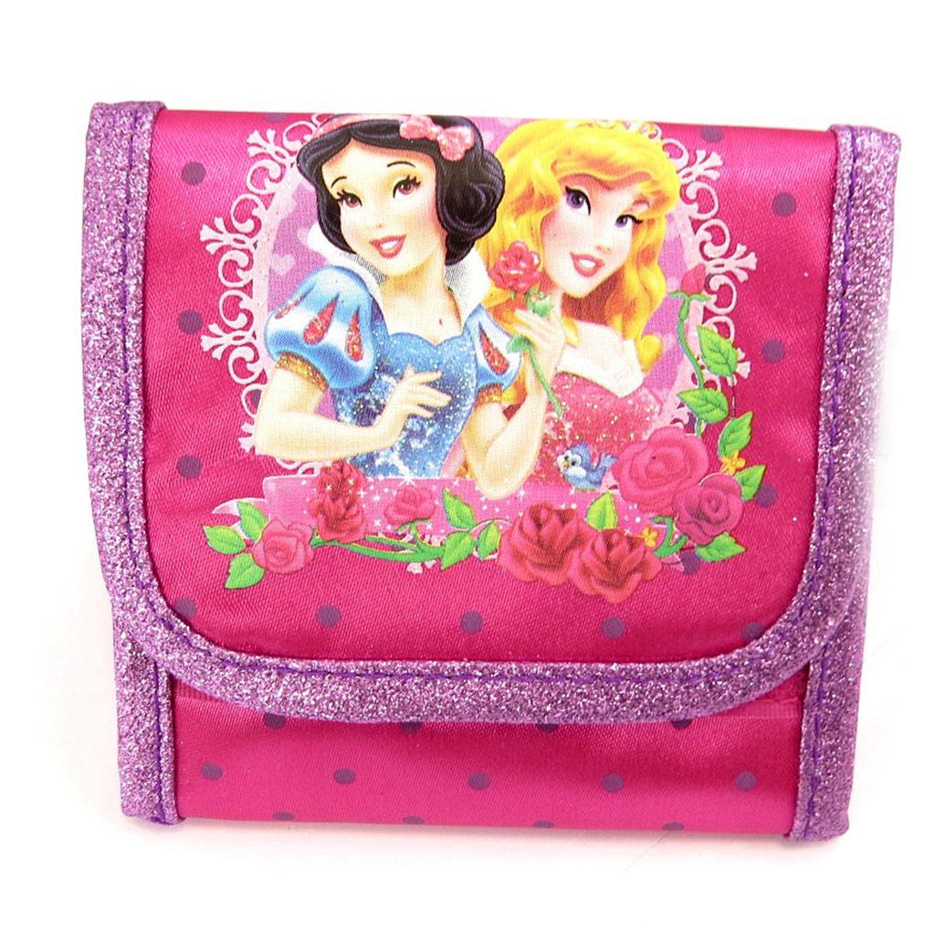 Portefeuille \'Princesses Disney\' Rose  - [K6118]