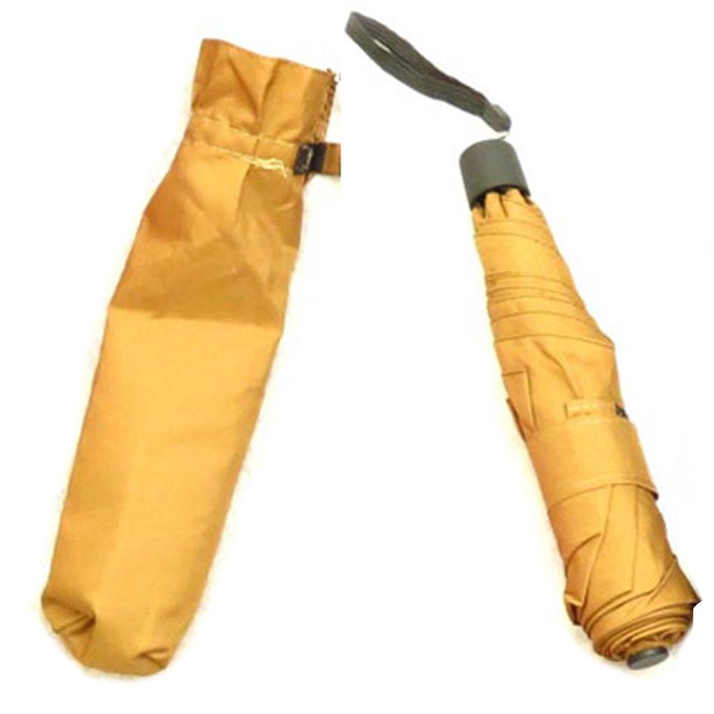 Parapluie Neyrat \'Le Crayon\' ocre - 22x4 cm - [Q9037]