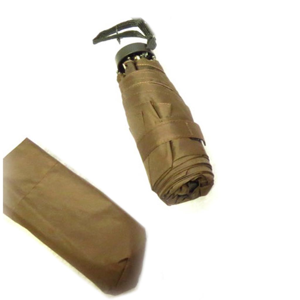 Parapluie Neyrat \'Coloriage\' marron - 16x5 cm - [Q9044]