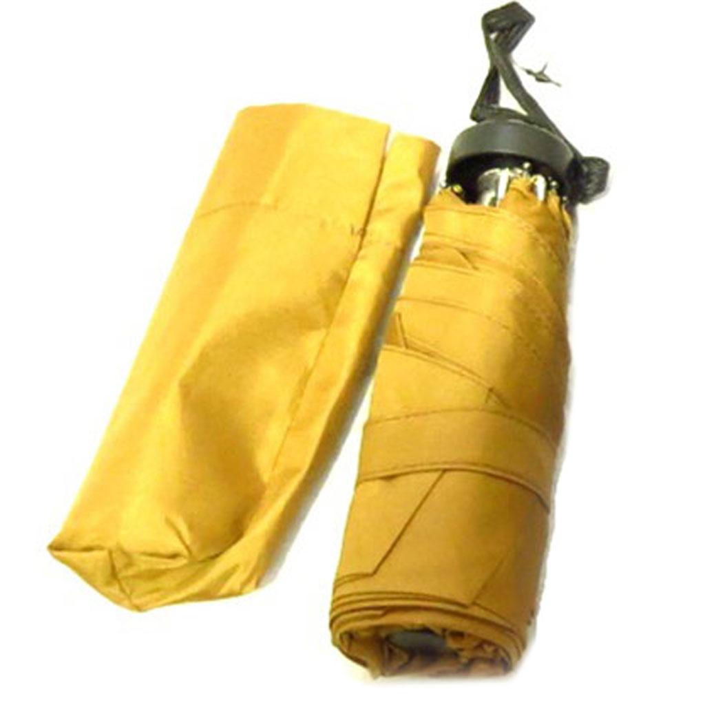 Parapluie Neyrat \'Coloriage\' ocre - 16x5 cm - [Q9047]