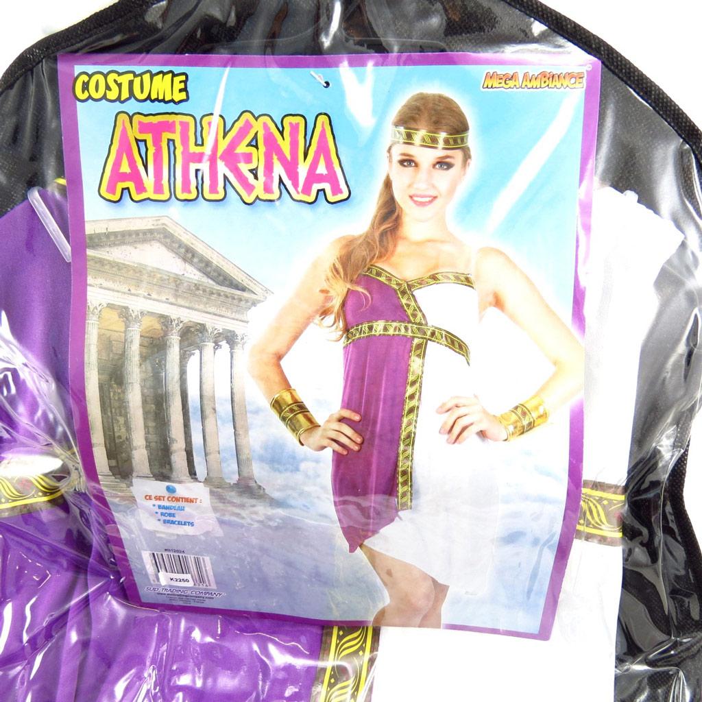 Déguisement de \'Athena\' violet - [K2250]