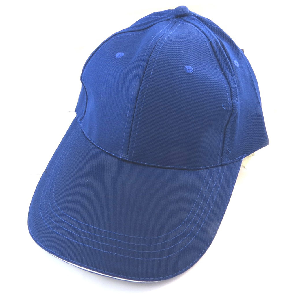 Casquette coton \'Casual\' bleu - [N5898]