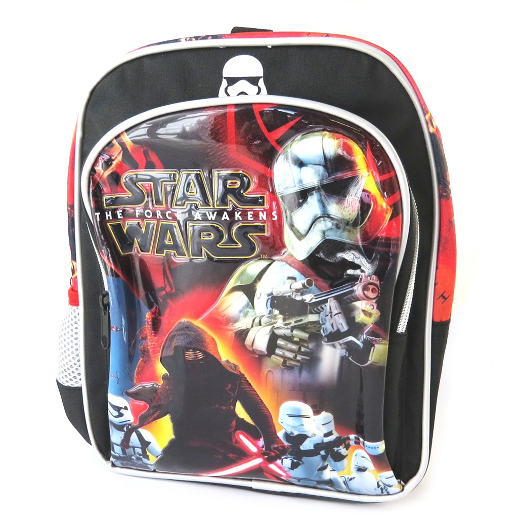 Sac à dos enfant \'Star Wars\' noir multicolore - 28x24x9 cm - [N6025]
