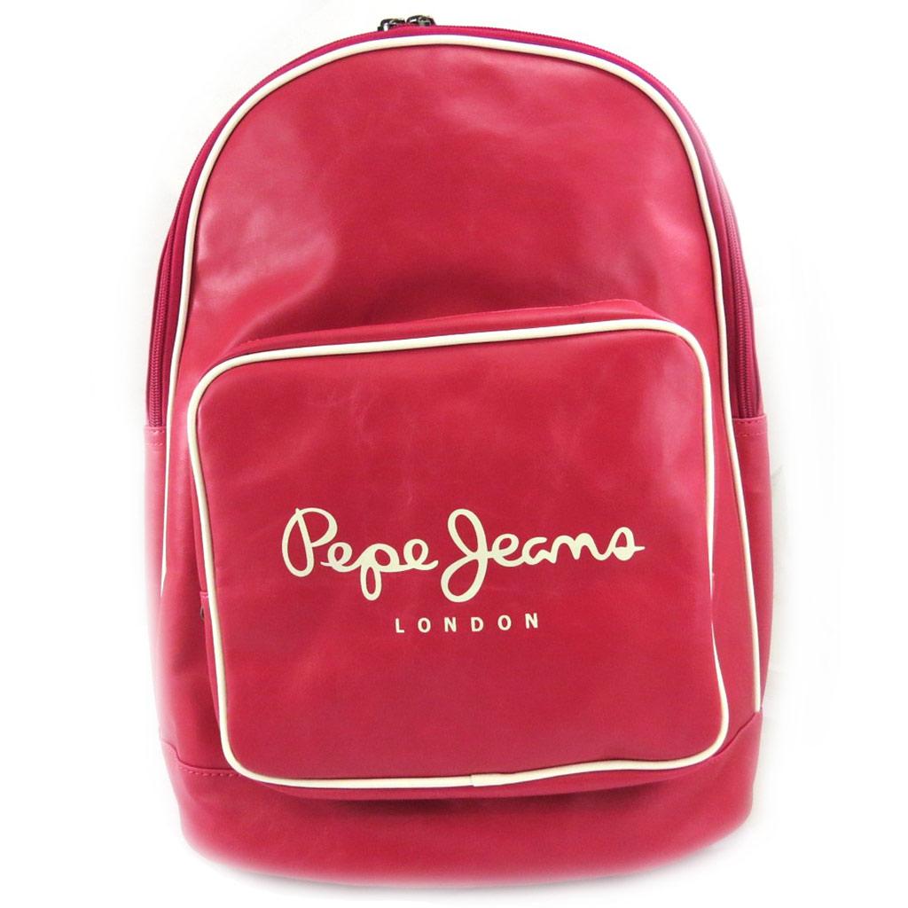 Sac à dos \'Pepe Jeans\' rose vintage - [L6587]