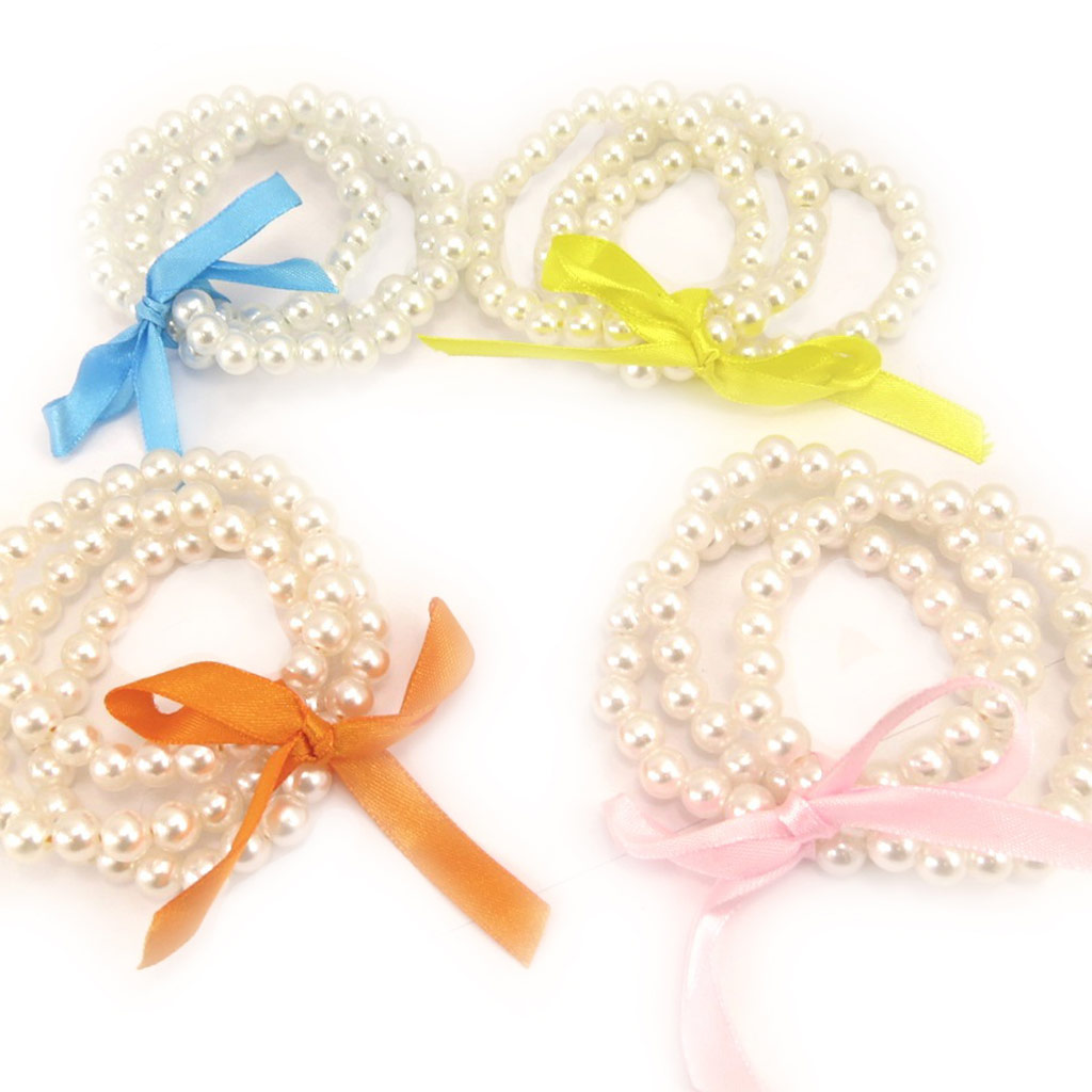 4 bracelets \'Sissi\' tutti frutti - [L1608]