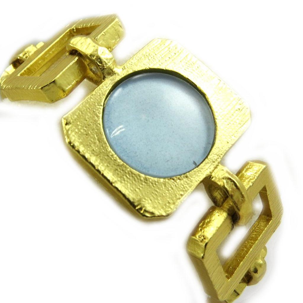 Bracelet Créateur \'Isis\' Bleu  - [B4808]