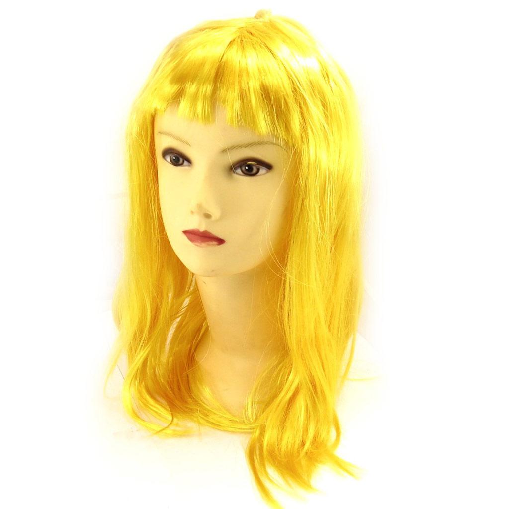 Perruque \'Pygmalion\' jaune (45 cm) - [K9066]