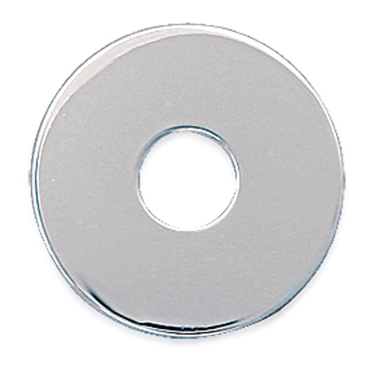 Pendentif Argent \'Ecu\' argenté gravable (rhodié) - 20 mm - [P4354]