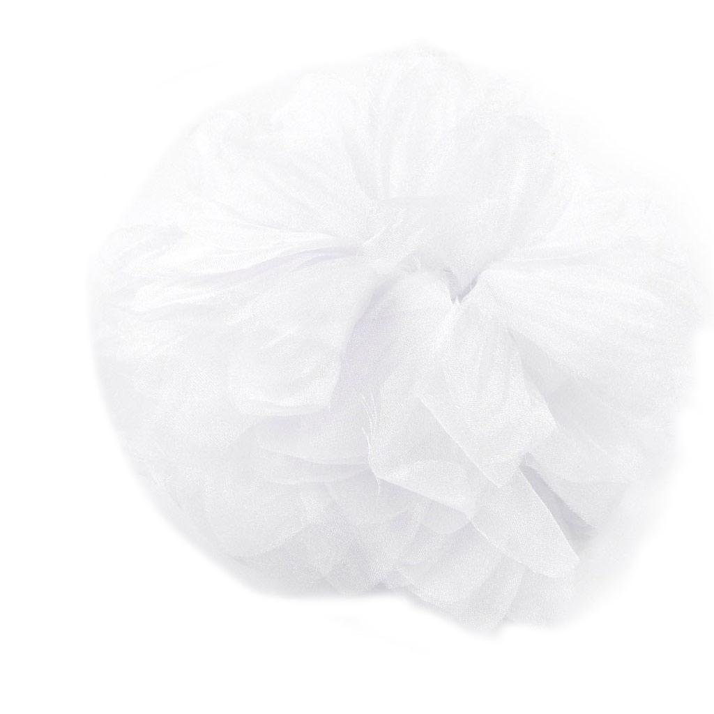 Broche Créateur \'Rose Féérique\' blanc - [H7958]