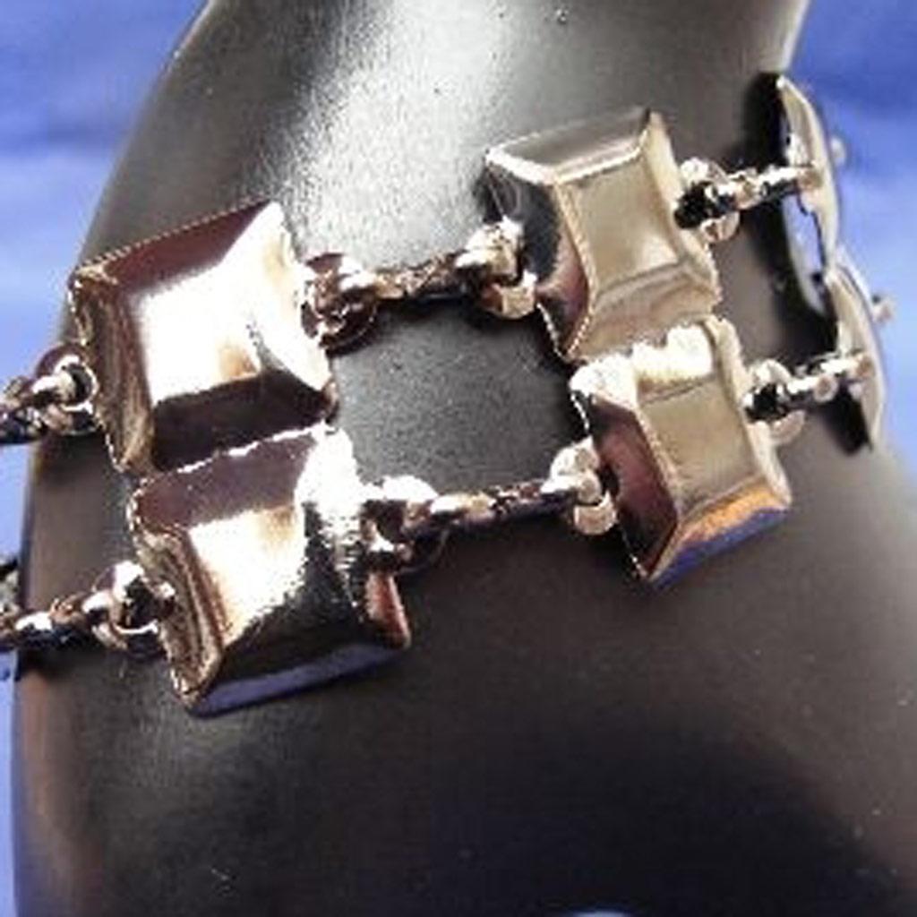 Bracelet \'Black Seduction\' Anthracite  - [B7188]