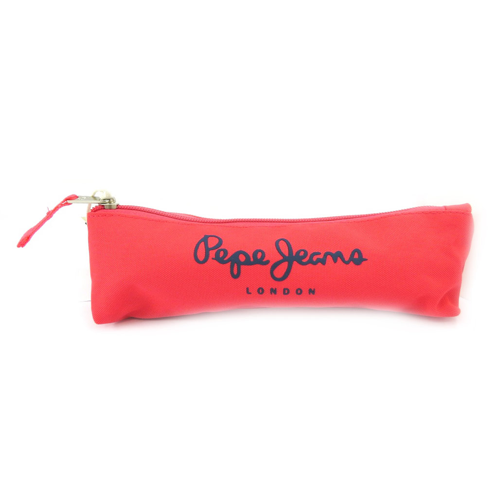 Trousse \'Pepe Jeans\' rose - [L6852]