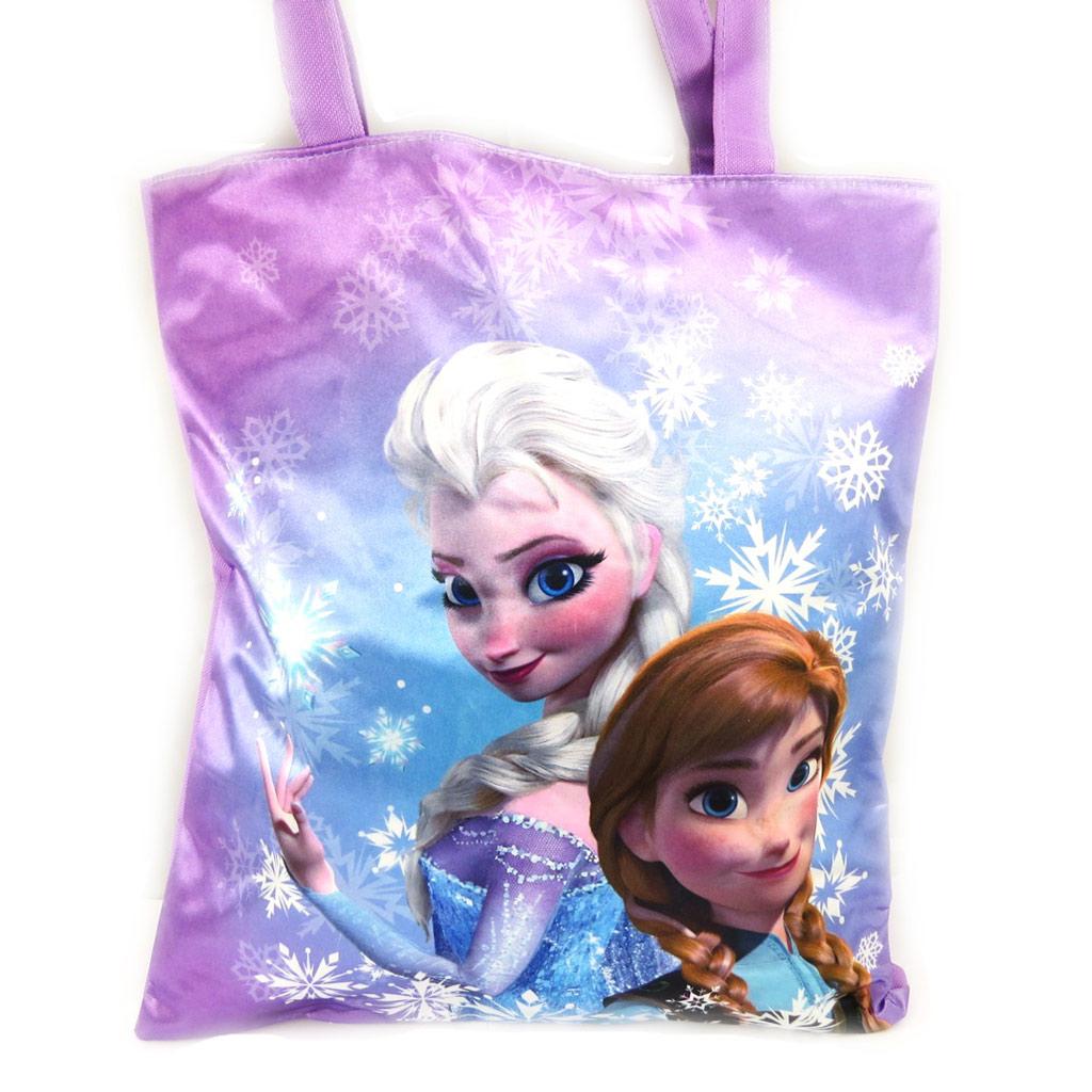 Sac shopping \'Frozen - Reine des Neiges\' violet - [L6889]