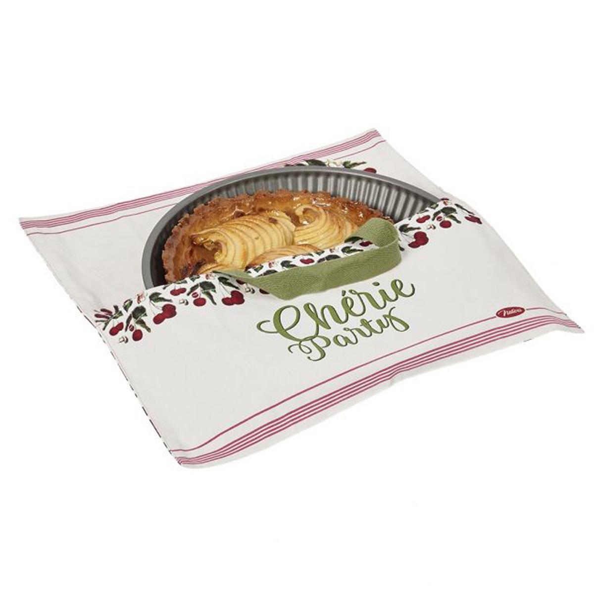 Sac à tarte coton \'French Vintage\' (Chérie Party) - 385x385 cm - [Q7154]