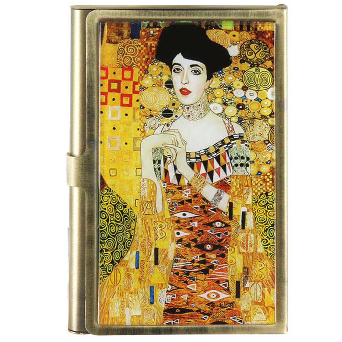 Porte-cartes \'Gustav Klimt\' (Adèle) - 90x55 mm - [Q7221]