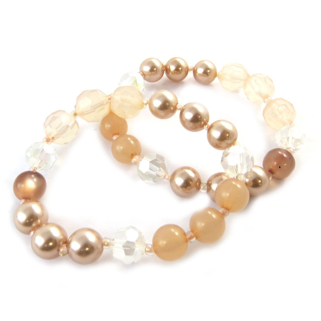 Bracelet \'Sissi\' ambre - [N6342]