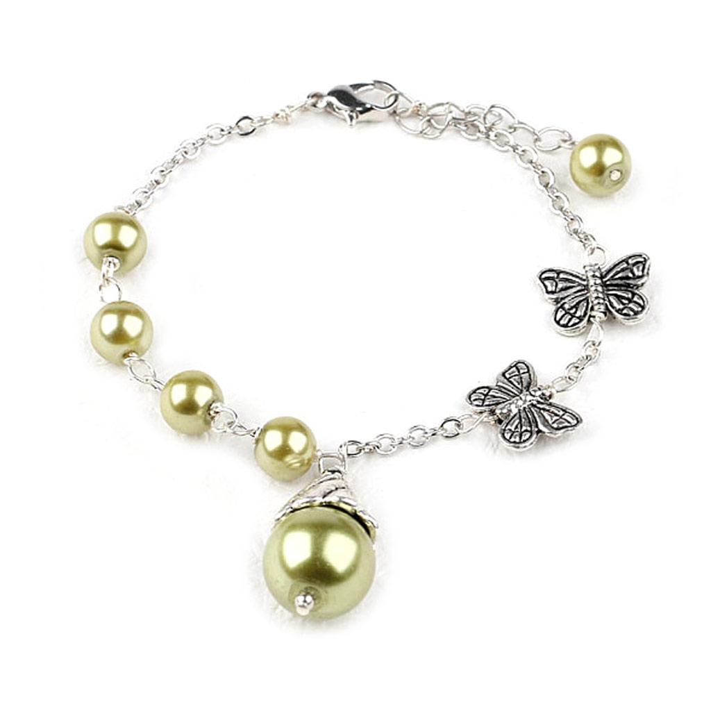 Bracelet \'Minéralia\' vert  - [K2873]