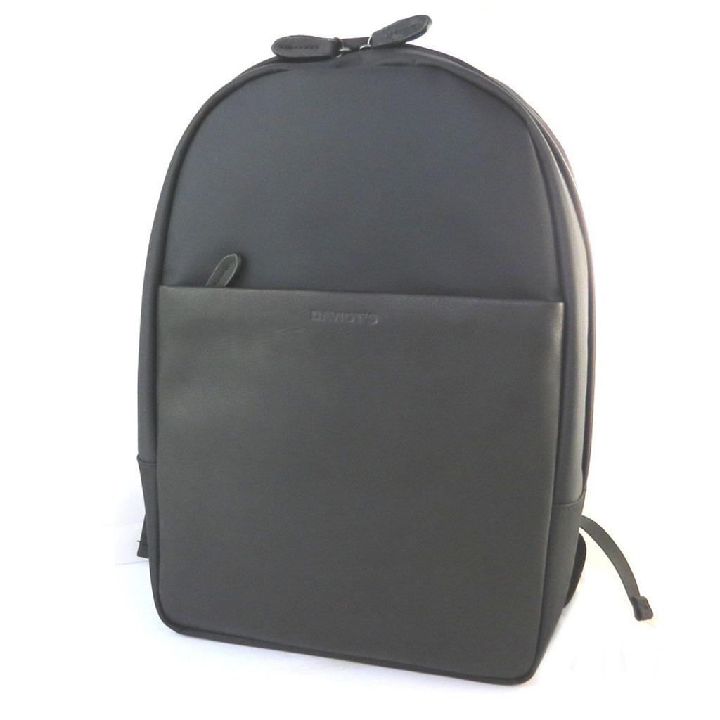 Sac à dos \'Indispensable\' noir (spécial ordinateur) - 40x29x12 cm - [N6587]