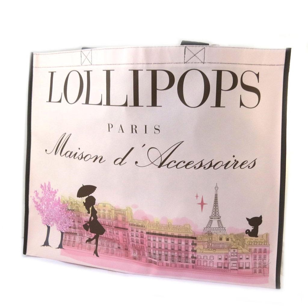 Sac shopping \'Lollipops\' rose - 475x38x16 cm - [N6593]
