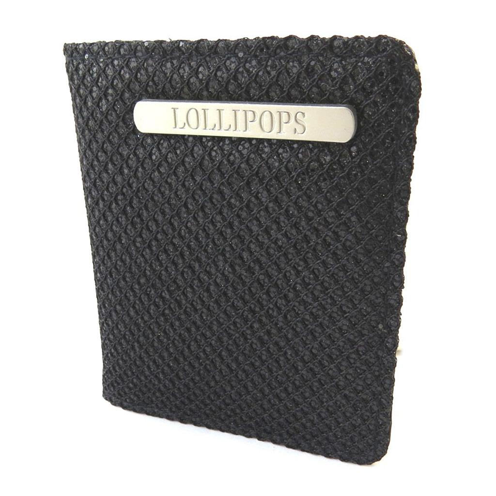 Porte-cartes \'Lollipops\' noir - 105x85x2 cm - [N6612]