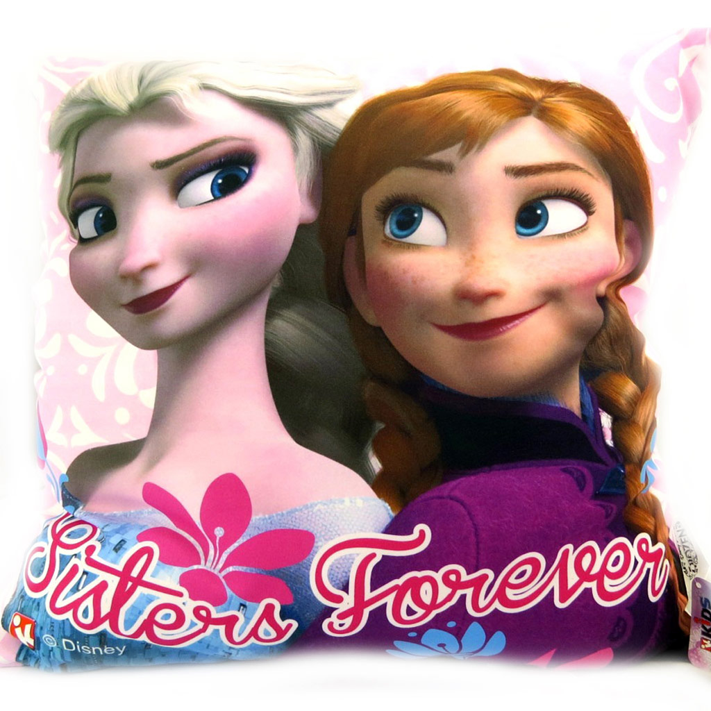 Coussin créateur \'Frozen - Reine des Neiges\'  (40x40 cm) - [L6914]