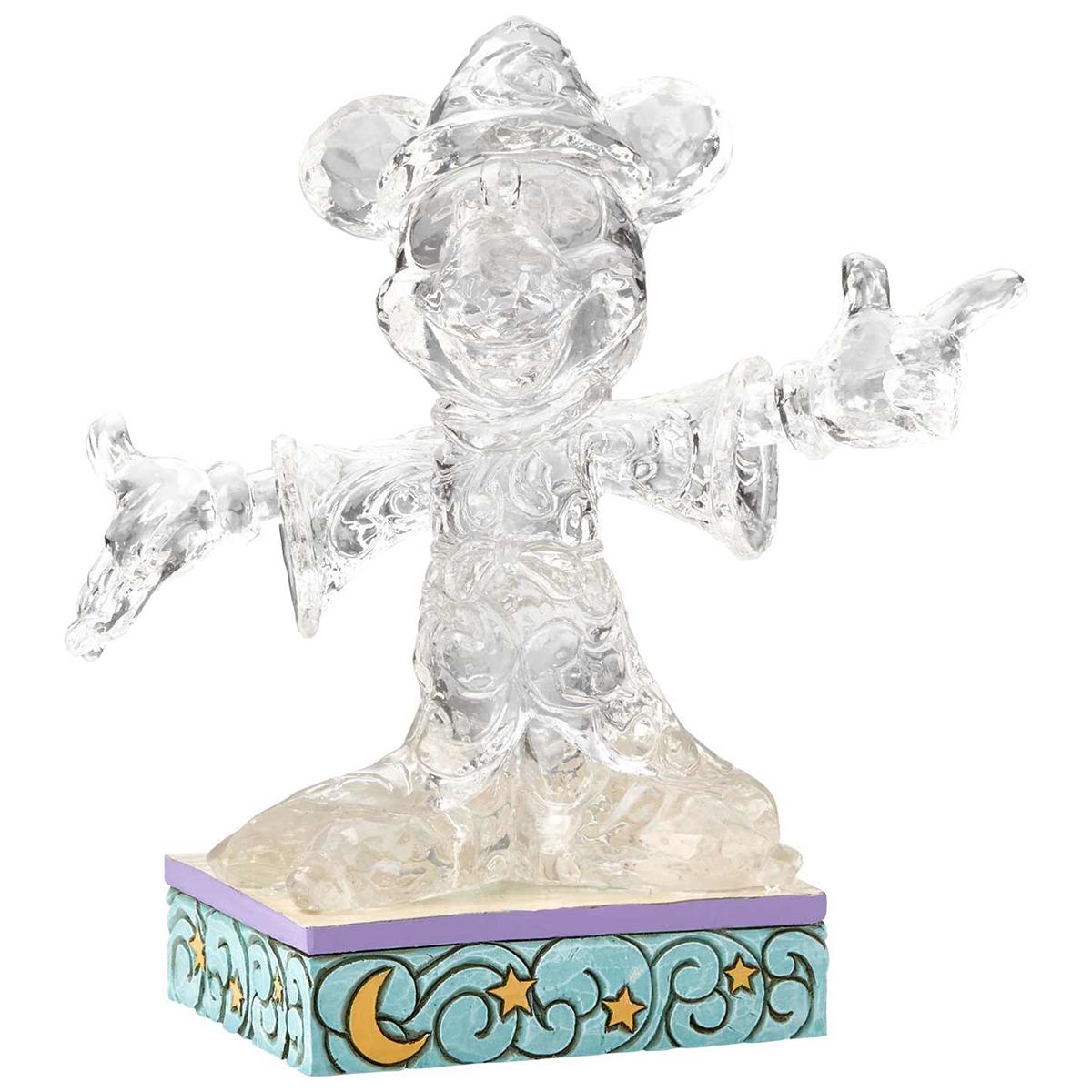 Figurine lumineuse led \'Mickey\' apprenti sorcier - hauteur 135 cm - [Q3804]