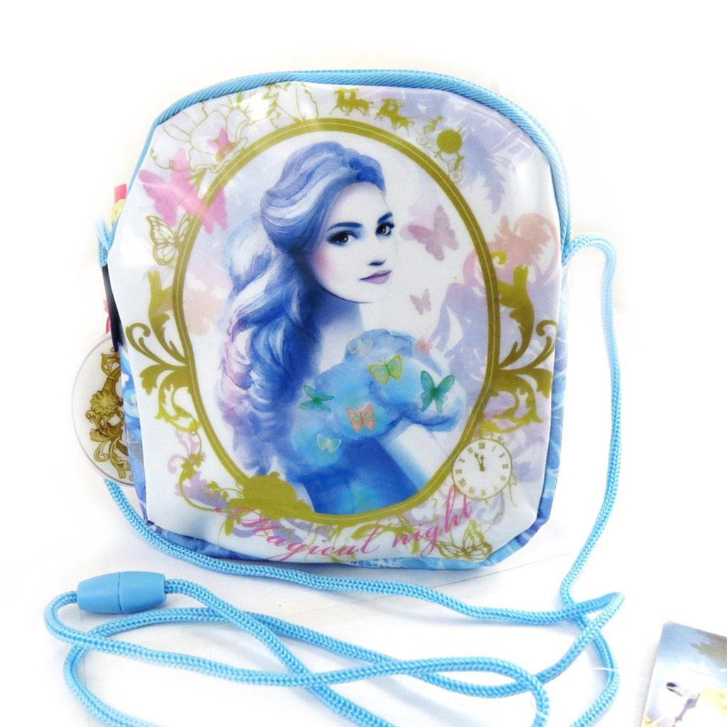 Sac bandoulière \'Cinderella\' Cendrillon - 15x14x2 cm - [M5969]