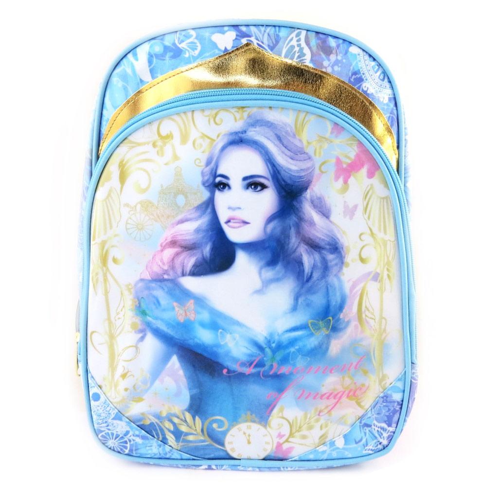 Sac à Dos \'Cinderella\' Cendrillon - bleu (35x27x14 cm) - [M5970]