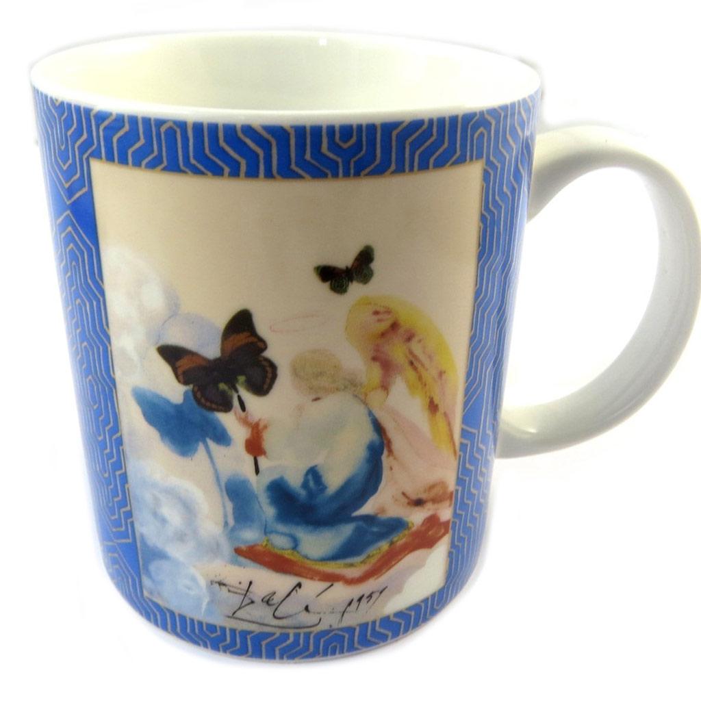 Mug porcelaine \'Salvador Dali\' Kneeling Woman - [P0978]