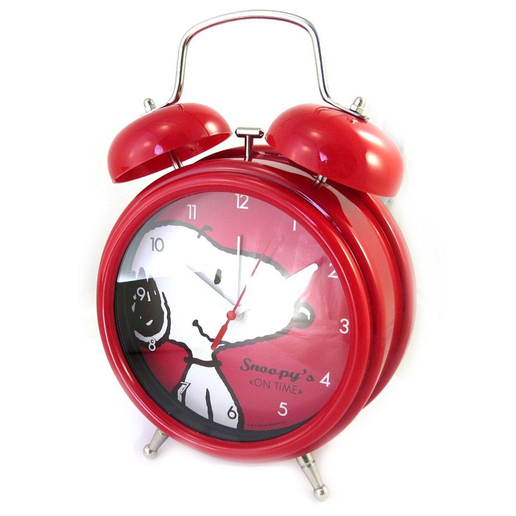 Réveil Cloche géant \'Snoopy\' rouge - [M6124]