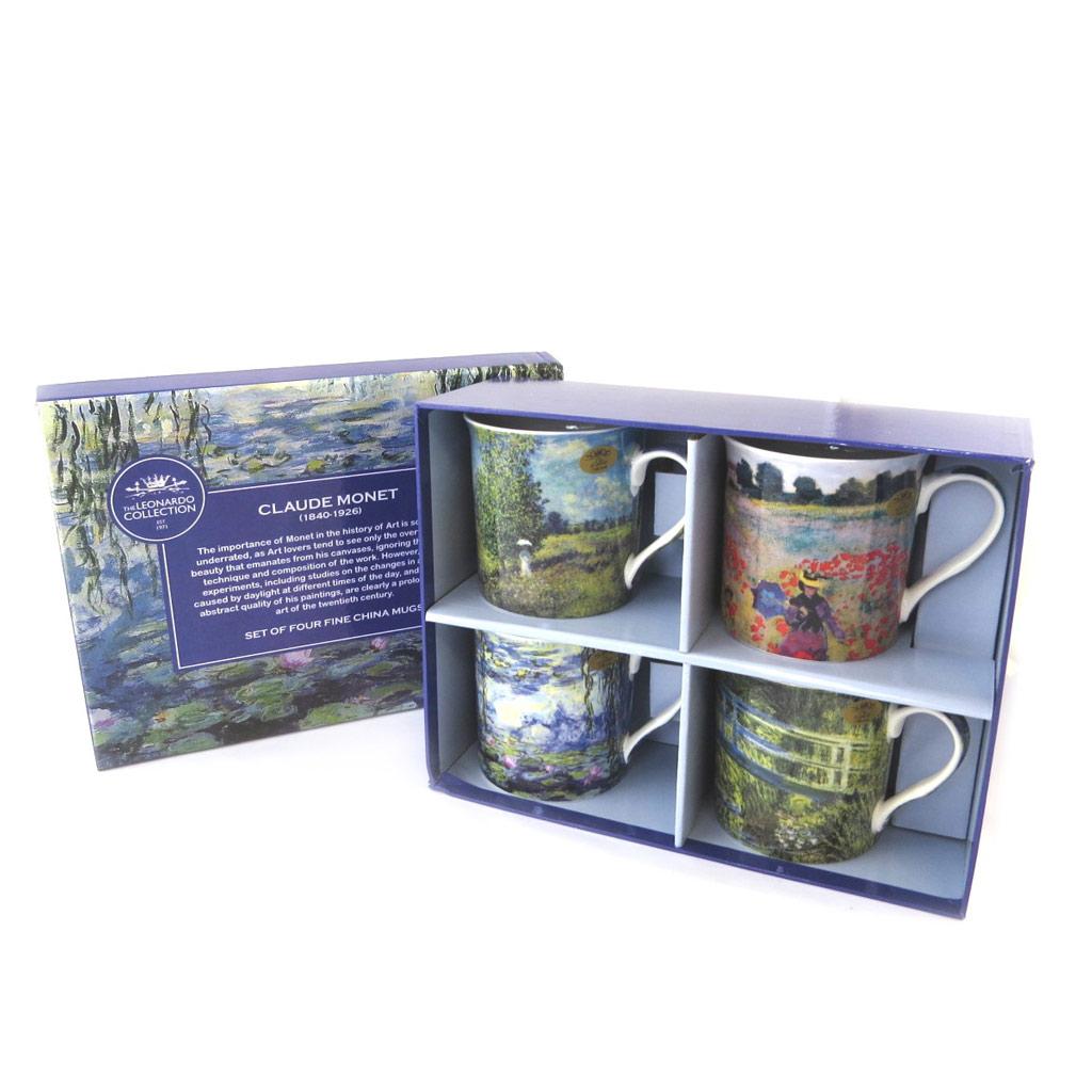 Coffret cadeau \'Claude Monet\'  (4 mugs) - [P1091]