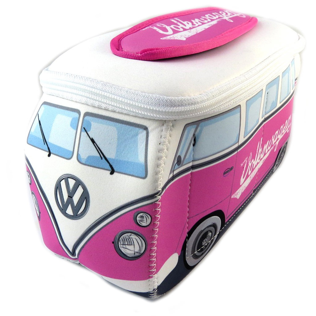 Trousse de toilette \'Volkswagen\' rose blanc - 29x14x105 cm - [P1124]
