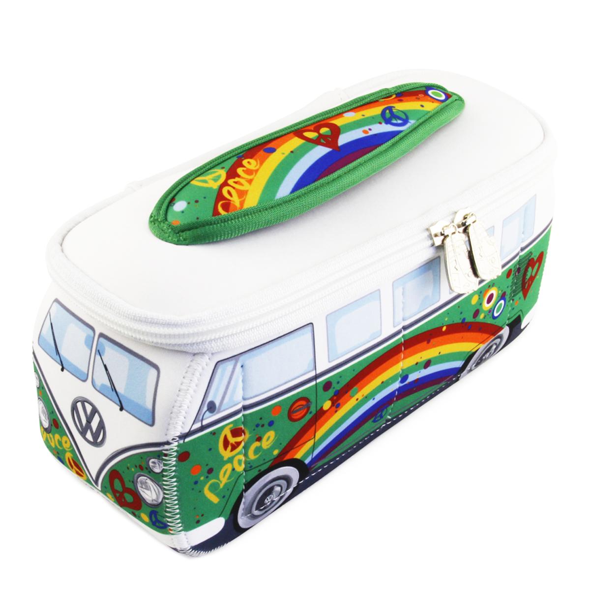 Trousse de toilette \'Volkswagen\' vert multicolore - 23x13x75 cm - [P1132]
