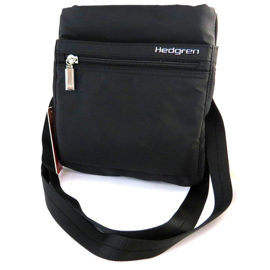 Sac bandoulière \'Hedgren\' noir - [L4738]
