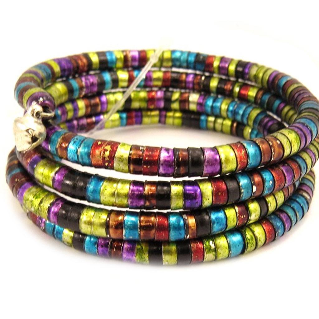 Bracelet créateur \'Kilimanjaro\' tutti frutti - [L5263]