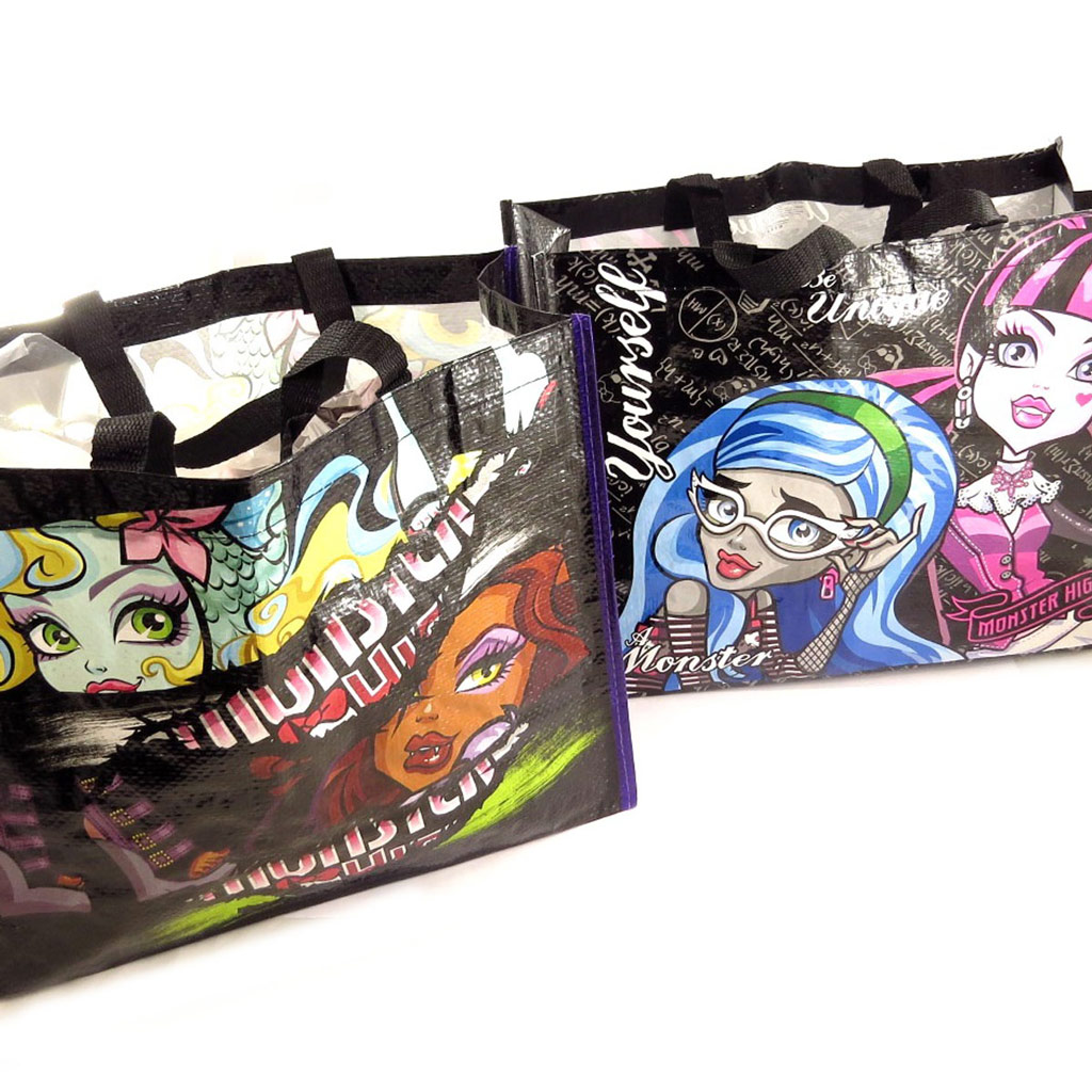 2 sacs shopping \'Monster High\'  - [K9827]
