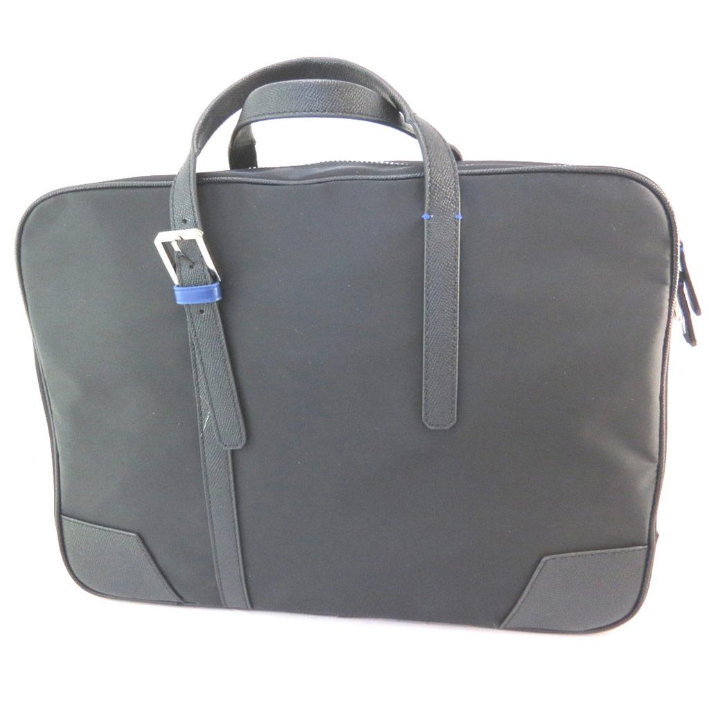 Sac business, porte-ordinateur \'Azzaro\' noir (special ordinateur 15\') - 38x28x9 cm - [P1443]