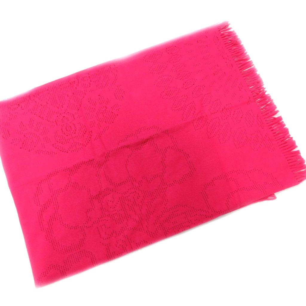 Plaid polaire \'Desigual\' rose (130x170 cm) - [L5472]