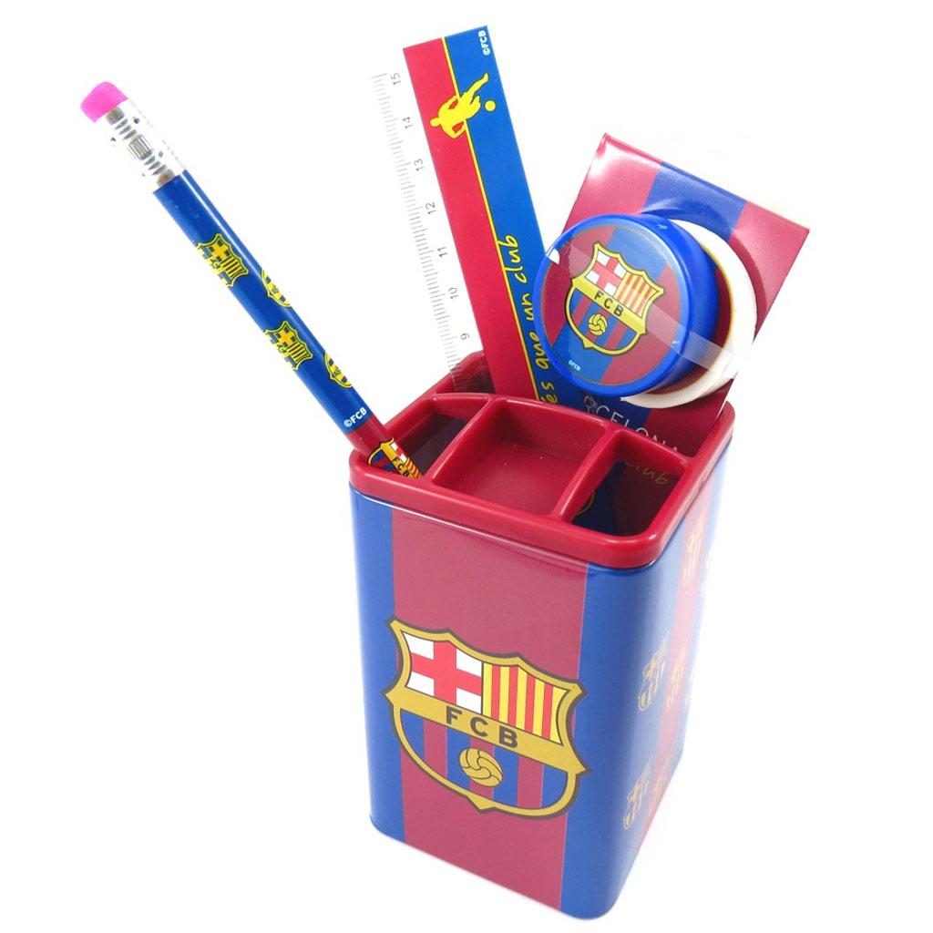 Set scolaire \'FC Barcelona\' rouge bleu - [K3553]