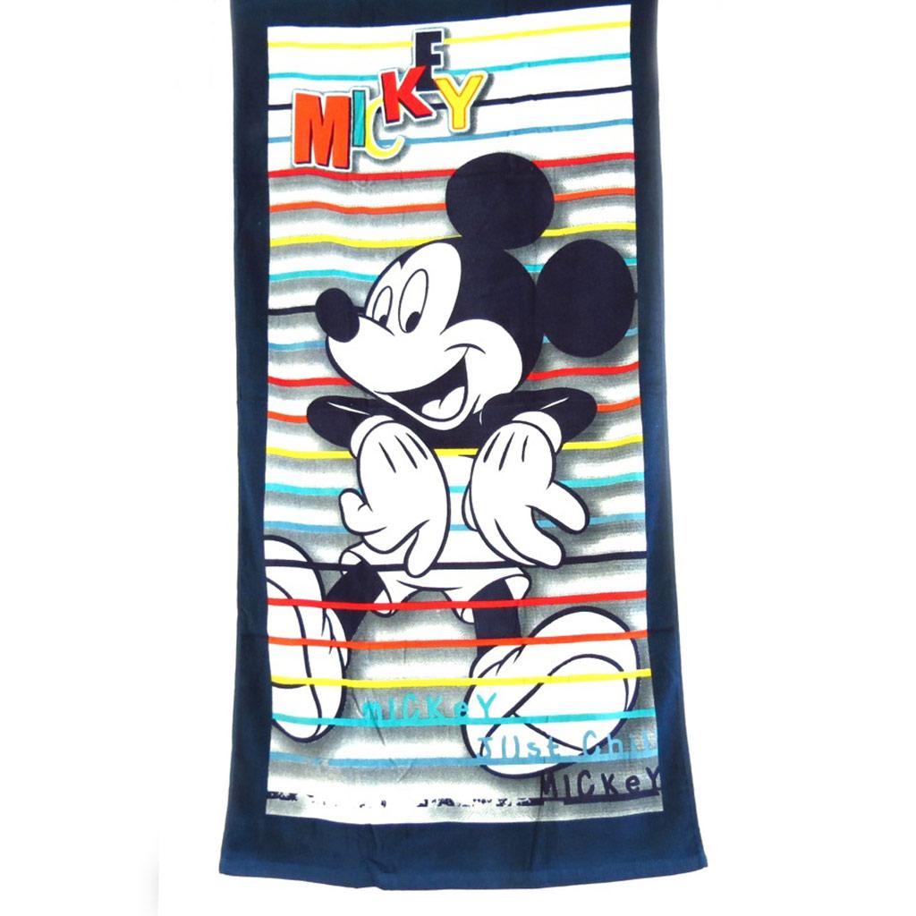 Drap de plage \'Mickey\' (70x140 cm) - [K3557]